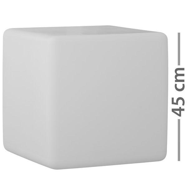 Würfel Leuchte GARDEN CUBE Dett IP44 Outdoor-Version 20W PL-ELT E27 5m Kabel