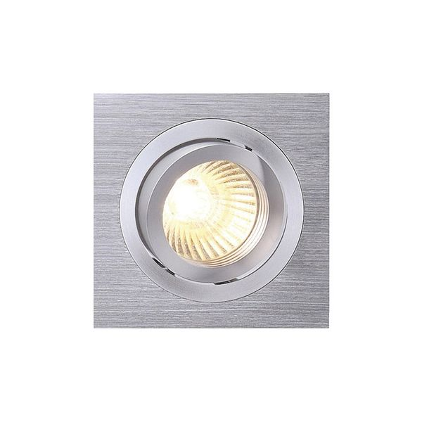 SLV NEW TRIA I MR16 Downlight, eckig, alu brushed