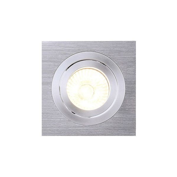 SLV NEW TRIA I GU10 Downlight, eckig, alu brushed