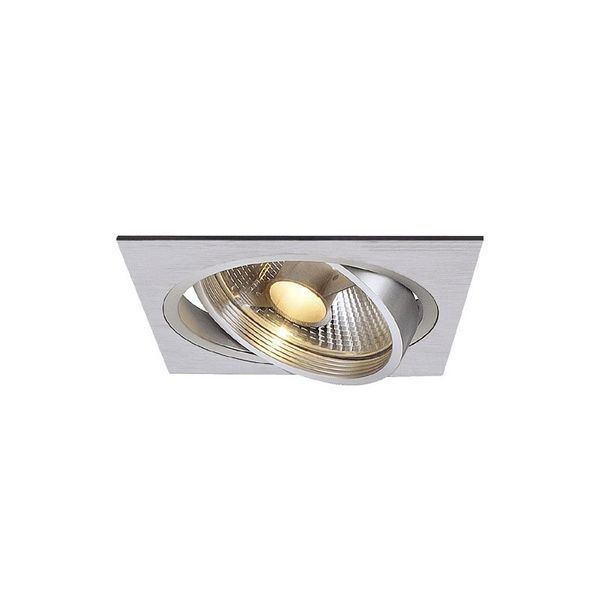 SLV NEW TRIA I ES111 Downlight, eckig, alu brushed
