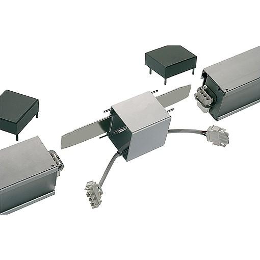 SLV Q-Line Längsverbinder, alu natur