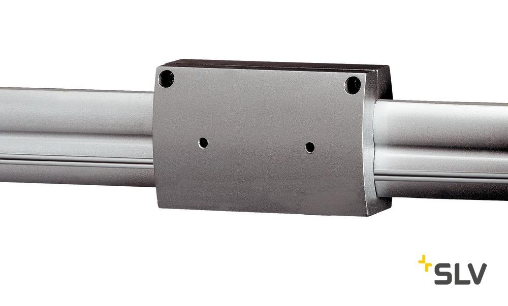 SLV Längsverbinder isoliert für EASYTEC II, silbergrau