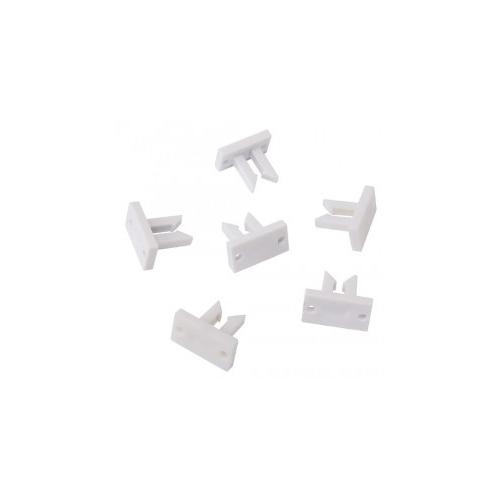 SLV Befestigungsclips für Silikon LED Flexstrips, 25 Stk.