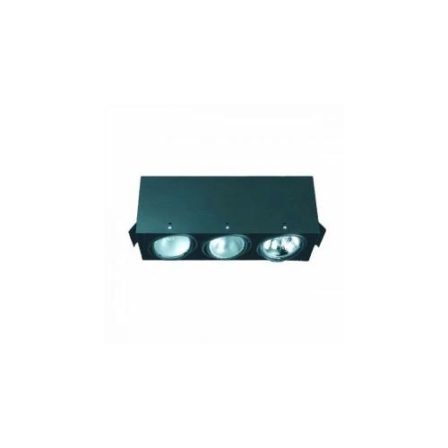 CLE Kardan Einbauleuchte YK3-GD-CDM T 3 x 35/70W schwarz
