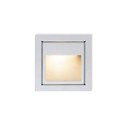 CLE LED / Halogen Wandeinbauleuchte YK11 New Wallsquare Open max. 20W 12V nickel