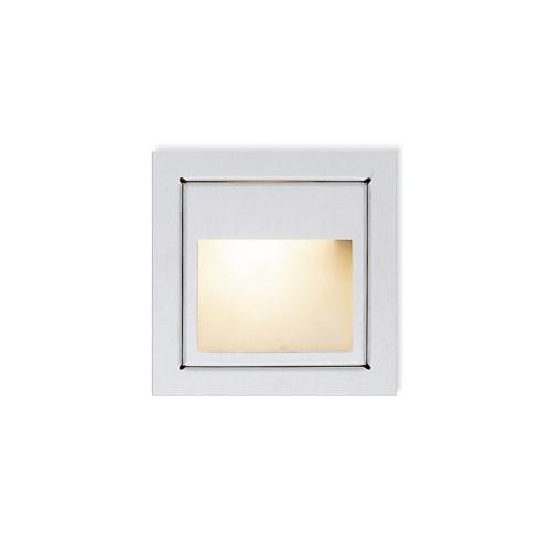 CLE LED / Halogen Wandeinbauleuchte YK11 New Wallsquare Open max. 20W 12V alu grau