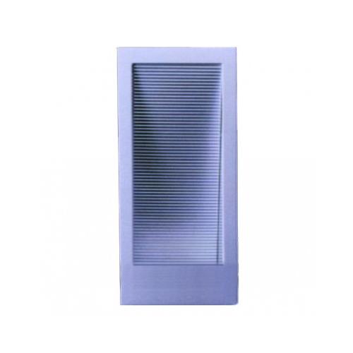 CLE LED Halogen Wandeinbauleuchte YK Small Screen II/78 max.100W alu elox.