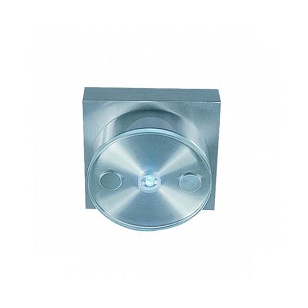 CLE LED Wandleuchte LED5 grün LED alu