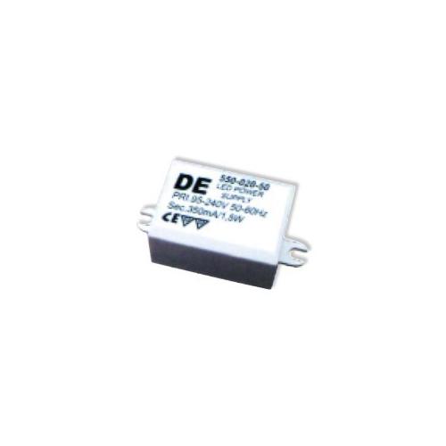 CLE LED-Netzgerät TRAFO 350mA für 1 x POWER LED