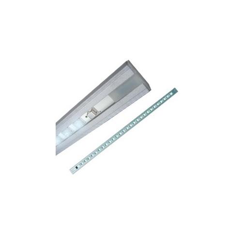CLE LED MÖBEL STRIPE LEDs 3W 12V Touch-Schalter und Trafo Möbeluntebauleuchte