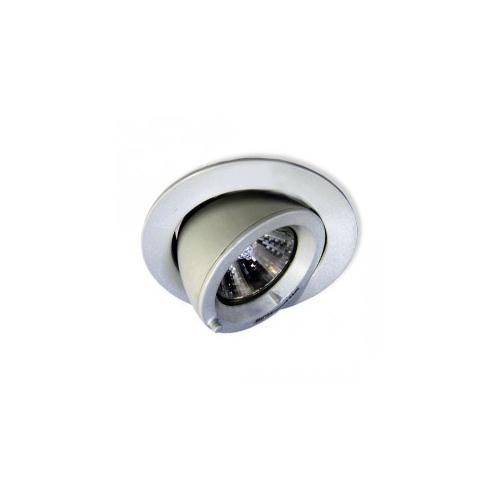 CLE LED / Halogen Einbauleuchte 1043 max. 50W alu grau