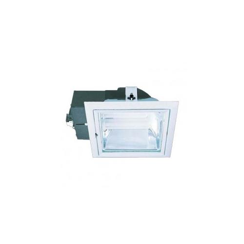 CLE Einbauleuchte YK Quattro Downlight 2x 18W alu grau