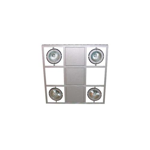CLE Kardanische Hängeleuchte YK Webspace CDMT Quattro Highspeed 4x 35/70W weiss
