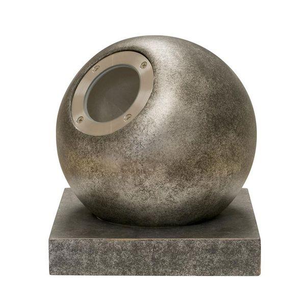 Gaga Lamp Design Objekt Steinkugel Leuchte Globe GU10 50W