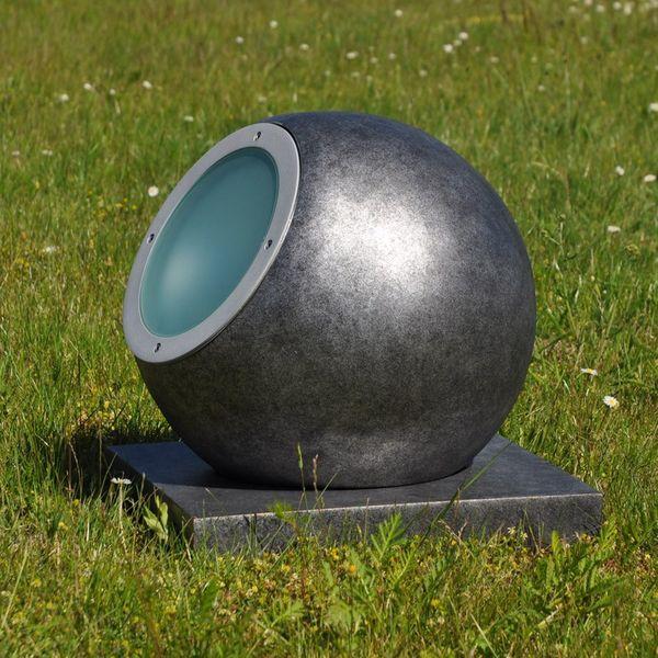 Gaga Lamp Design Objekt Steinkugel Leuchte Globe CDM-T 70W