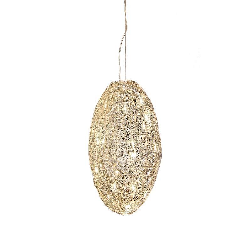 Gaga Lamp Design Kugel Hängeleuchte Silverball 30 15x 10W Halogen