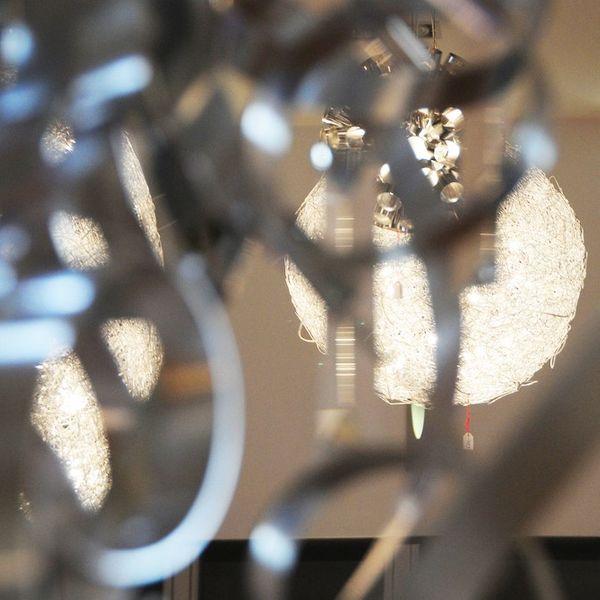 Gaga Lamp Design Kugel Hängeleuchte Silverovum max. 30x 10W Halogen - LED Bild 5