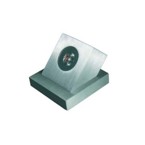 CLE ALUTEC Aussen LED Bodeneinbau Scheinwerfer LED 8701 1W alu / LEDs weiss