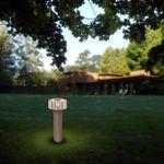 Gaga Lamp Design ALUTEC Halogen Aussen Wegeleuchte Park Force 40W alu grau