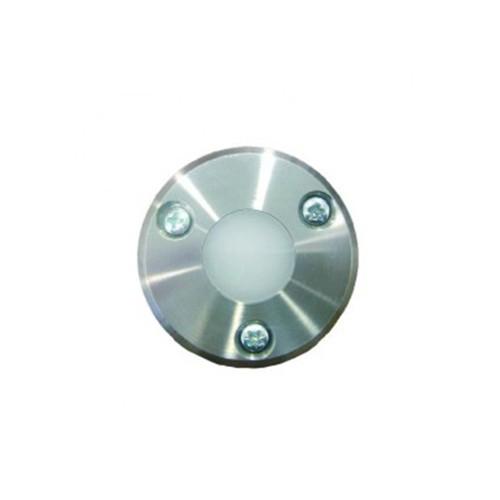LED Bodeneinbauleuchte 3 1W stahl