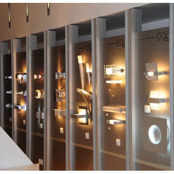 Gaga Lamp Design Wandleuchte WL90 50W silbergrau Bild 5