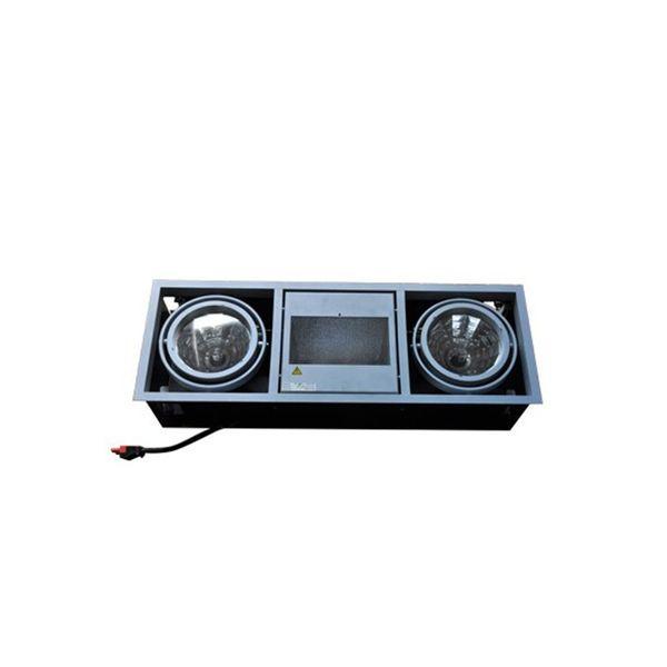 ANSORG Shoplight alu grau  2x 35W Philips CDM-T L.M. +HQI-TS GEBRAUCHT