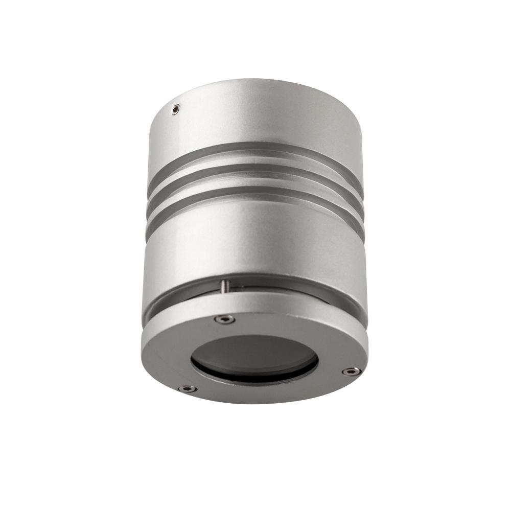 Gaga Lamp Design Aufbauleuchte XF9018 rund silber max. 50W GU10