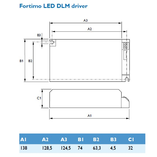 Philips FORTIMO LED MODUL DRIVER 1100-2000 -*A – Bild 2