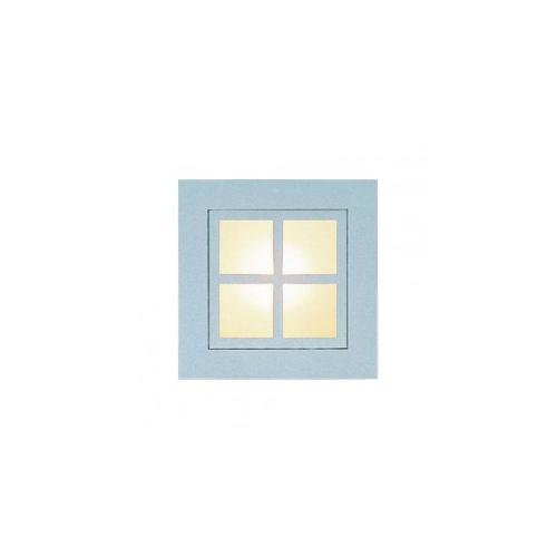 CLE LED / Halogen Wand Deckeneinbauleuchte YK Quattro Square Window max. 1x 35W weiss