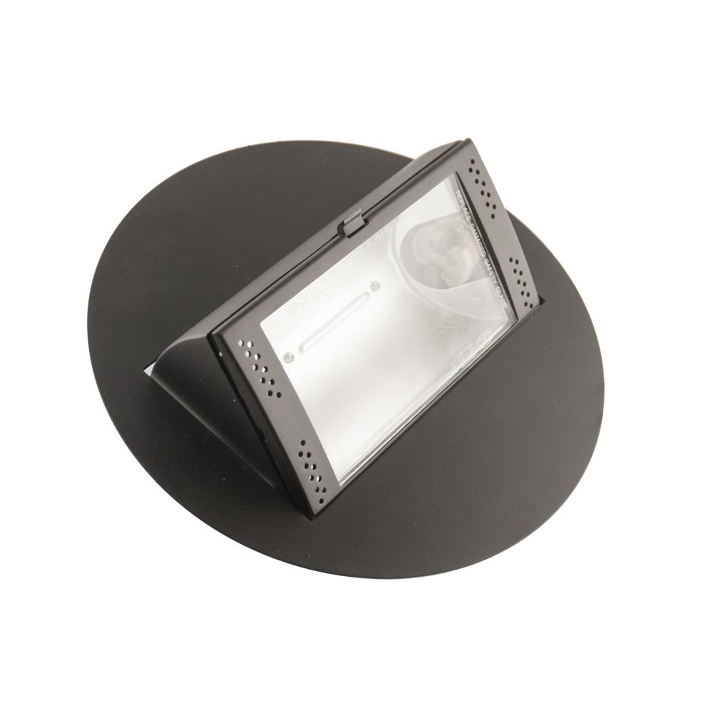 CLE HQI Einbauleuchte rund ausfahrbar CDM , HQI, 20/35/70/100W schwarz