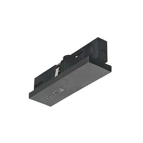 SLV EUTRAC Mitteleinspeiser für 3-Phasenschiene, schwarz