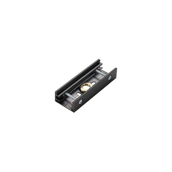SLV EUTRAC StoSSstellenverbinder für 3-Phasenschiene, silbergrau