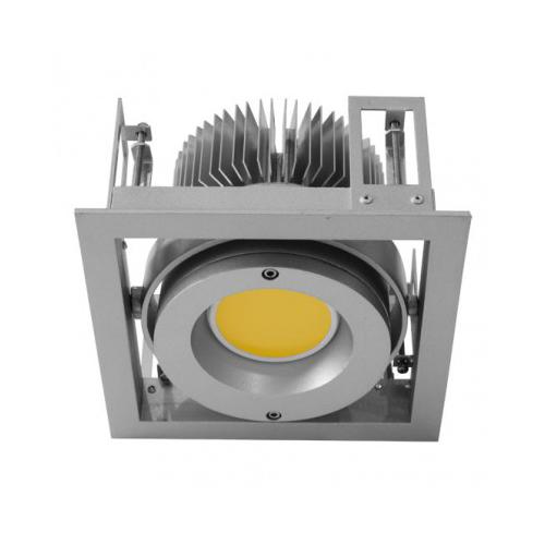 CLE Kardan Einbauleuchte YK1 für Fortimo DLM LED 1100-3000 Lumen alu grau