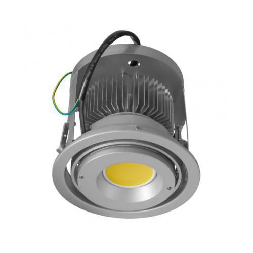 CLE Kardan Einbauleuchte Modo-Line für Fortimo DLM LED 1100-3000 Lumen alu grau