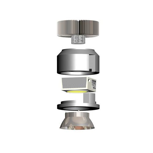 CLE Kühlkörper für FORTIMO LED Kühlleistung > 20W  – Bild 3