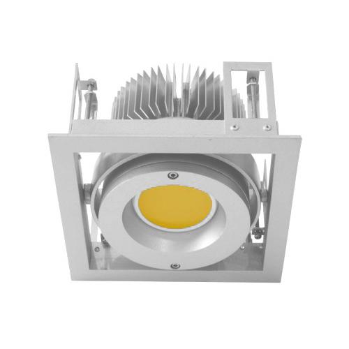 CLE Kardan Einbauleuchte YK1 für Fortimo DLM LED 1100-3000 Lumen weiss