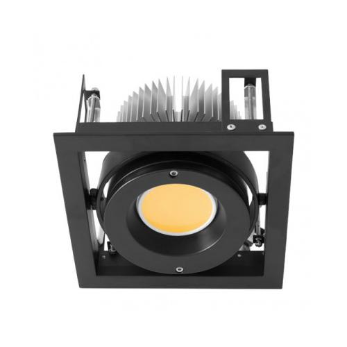 CLE Kardan Einbauleuchte YK1 für Fortimo DLM LED 1100-3000 Lumen schwarz