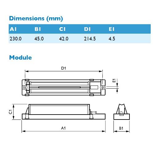Philips FORTIMO LED LLM Linear MODUL 1800lm 23W 730 -*A – Bild 2
