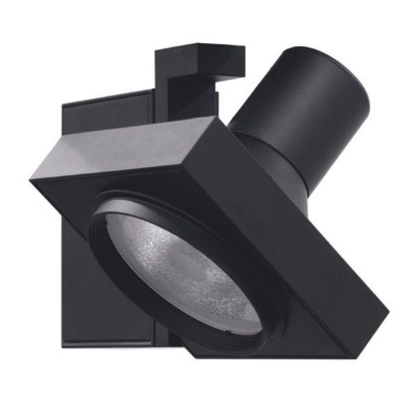 CLE Stromschienenleuchte NEW CUBI CDM-T 20/35/70W schwarz 45°