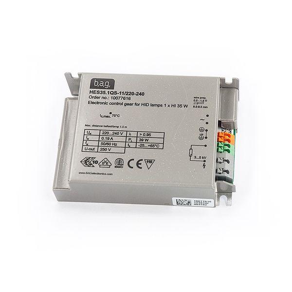 BAG EVG Vorschaltgerät für 35W Philips CDM /Osram HQI Lampen Stahl