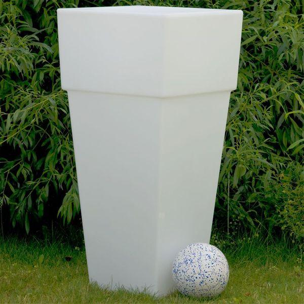 CLE Lichtobjekt Blumentopf E27 quadratisch