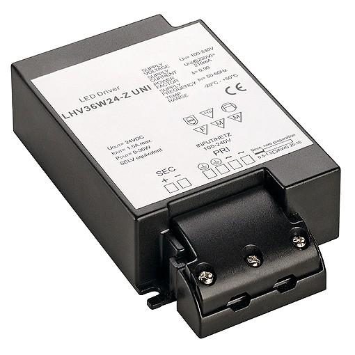 SLV LED-Netzteil, 36W, 24V