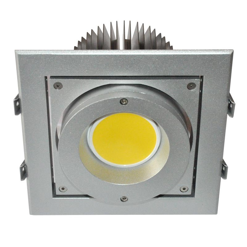 CLE Einbausystem YK-1 XBOX für Fortimo LED 1100-3000Lumen silbergrau