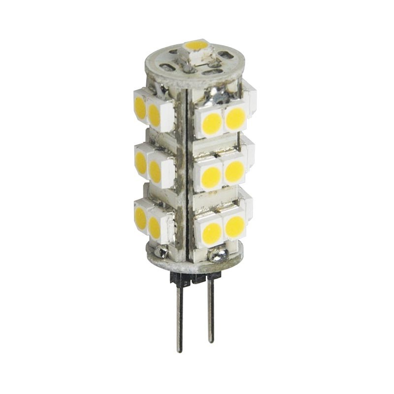 LED Stiftsockellampe 1,25W(=5W Halogen) 12V 3000K warmweiss