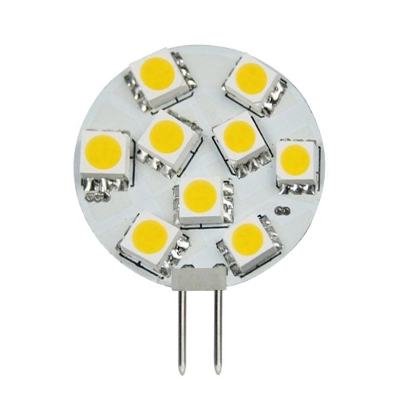 LED Stiftsockellampe 2W(=10W Halogen) 12V 3000K warmweiss