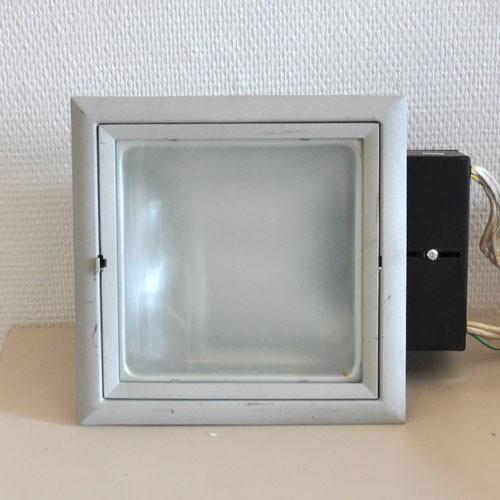 CLE Einbauleuchte gebraucht YK Quattro Downlight 2x 18W alu grau GEBRAUCHT