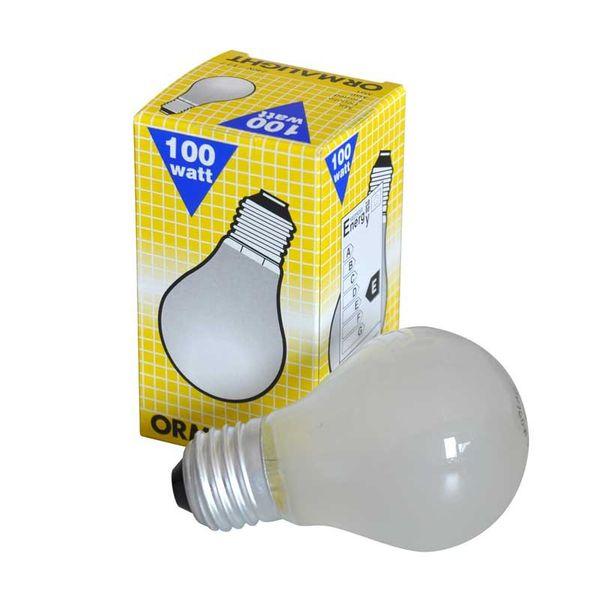ORMALIGHT AGL Standard Glühlampe 100W in matt E27 Glühbirne