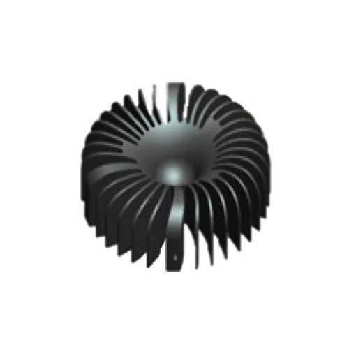 Passivkühler für Philips FORTIMO DLM LED 2000lm Kühlleistung <36W