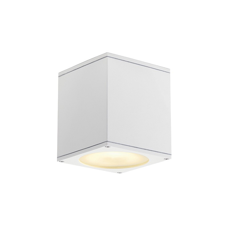 SLV BIG THEO CEILING OUT Aussenleuchte, ES111, weiss, max. 75W