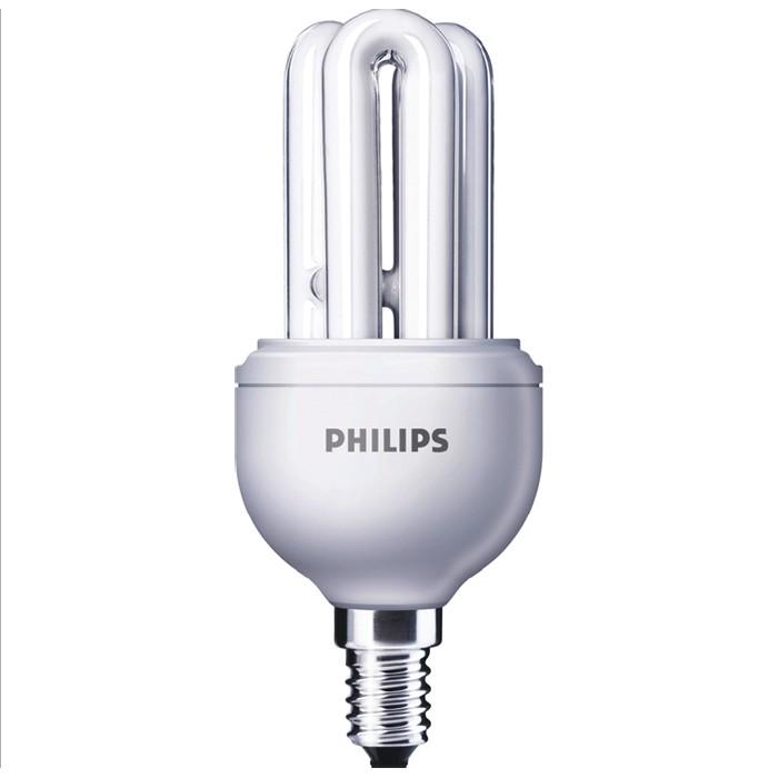 Philips Genie Longlife Kompaktleuchtstofflampe 11W 865 E14 kaltweiss